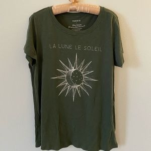 Torrid Dark Green Tee - Size XL (1)